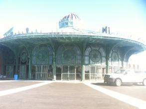 Asbury Park carousel housing