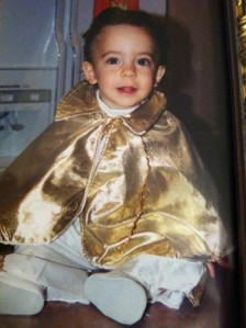 Nic 1st Halloween (Elvis) 1997