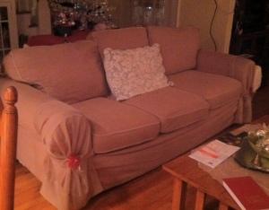 sofa--dressed up